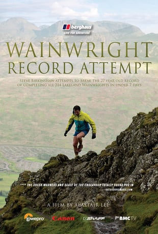 Wainwright Record Attempt - A Running Film Poster